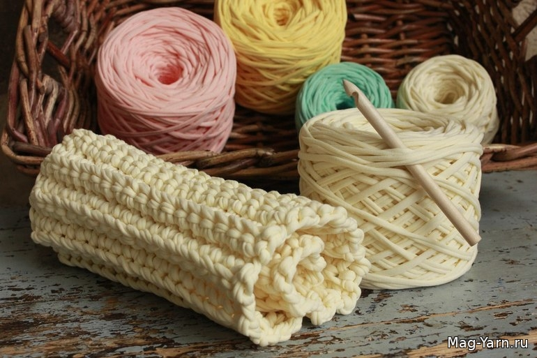 Нитки лапша для вязания
