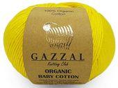 Органик беби хлопок (organic baby cotton) 50 г. 115 м.