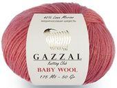 Беби шерсть Газзал (baby wool gazzal) 50 г. 175 м.